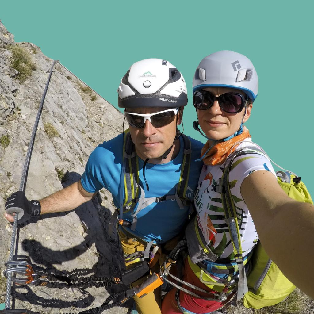 portret Poli i Darka z Climb2change